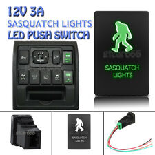 Green LED Switch SASQUATCH LIGHTS for Toyota Highlander Sequoia Tundra 4Runner