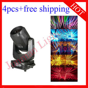 260W Sharpy Beam Moving Head DJ Disco Stage Effect Light 4pcs Free Shipping
