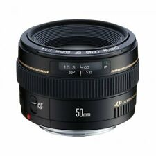 Brand New Canon EF 50mm F1.4 USM Black Pancake Lens ES*3