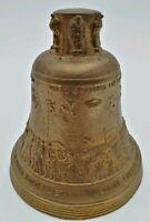 Campana dei Caduti di Rovereto Ottone 375 gr Vintage Guerra 11 cm Campanella