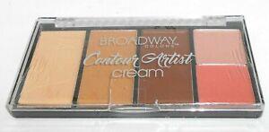 Broadway Colors Crème Contour Artiste Palette Kit - BCK02 Moyen / Foncé