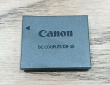 Genuine NEW Canon DC COUPLER DR-40 Battery for Canon Powershot
