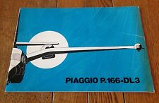 Vintage Piaggio P.166-DL3 Turbo Prop Gull Brochure