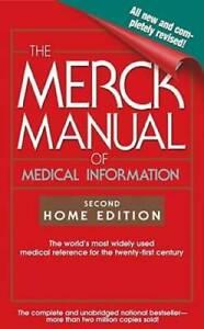 The Merck Manual of Medical Information: Second Home Edition (Merck Manua - GOOD