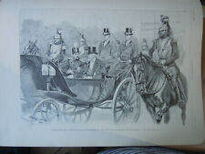 French Magazine Journal 1900 Shah de Perse Chah of Persia Mozaffer Ed Dine Iran