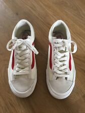 Vans Style 36 Shoes Marshmallow Racing Red - 6.5 UK
