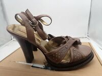 Chinese Laundry Women's High heel sandals  leather ankle strap sizes 9.5 & 10 M