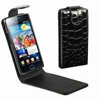 Étui pour Téléphone Portable Sac Rabattable Coque Cadre Samsung Galaxy S2+i9105