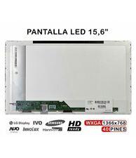 PANTALLA PORTATIL WXGA LP156WH2 TL E1 LED CONECTOR ABAJO IZQUIERDA lp156