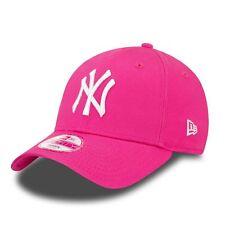 New Era NUOVO Donna 9FORTY New York Yankees Cappello rosa nuovo con etichetta