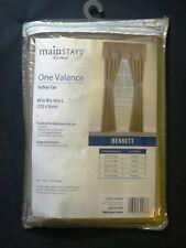 Bennett Valance - Vallejo Tan - 60x14
