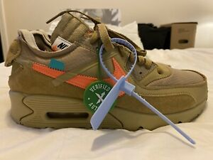 Nike Air Max 90 Off White Desert Ore size 9