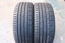 PAIR OF PIRELLI P-ZERO 225/35/ZR19 88Y TYRES MCLAREN PNCS MC 6.75mm & 7.5mm