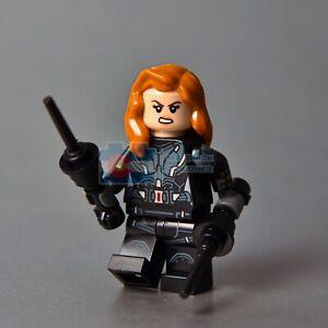 LEGO Black Widow Super Heroes Minifigure 76153 Avengers Natasha Romanova Endgame