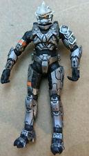 Halo Series 7 Silver Steel Spartan Hayabusa  McFarlane Figure Great Condition