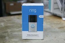 1080p HD Wi-Fi Wired and Wireless Video Doorbell 3 Smart Home Camera SEALED