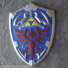 Legend Zelda Link Hylian Twilight Princess Master Tri Force Foam Shield Cosplay