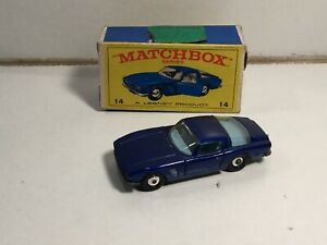 Matchbox Superfast 14 Iso Grifo Within Its Original E Type Box