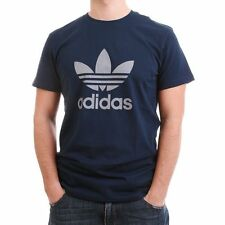 adidas Cotton Patternless Loose Fit T-Shirts for Men