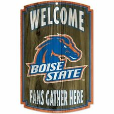 NCAA Boise State Broncos Wood Sign