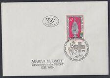 Österreich Austria 1988 FDC Mi.1921 Silber Weihrauchfass silver thurible [af258]