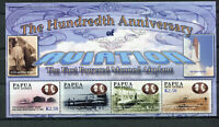 S8518) Papua & New Guinea MNH New 2003, 100 Years Aviation 4v M/S, Untried