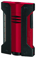 S.T. DUPONT Defi Extreme Feuerzeug rot mit Jetflamme, 021402, NEU&OVP