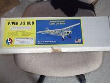 "HERR ENGINEERING PIPER J-3 CUB 36"" W/S MODEL AIRCRAFT KIT KEIL KRAFT VERON STYLE"