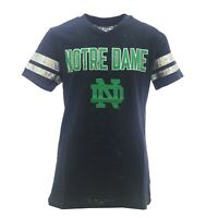 Notre Dame Fighting Irish Official NCAA Kids Youth Girls Sheer T-Shirt New Tags