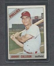 1966 Topps #230 Johnny Callison (Phillies)  Vg-Ex  (Flat Rate Ship)