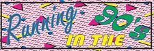 Running in the 90's Slap Vinyl Decal Sticker Skyline JDM EVO MR2 Supra Civic EG