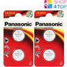 4 PANASONIC CR2016 LITHIUM POWER BATTERIES 3V CELL COIN BUTTON EXP 2028 NEW