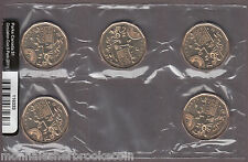 1911 2011 - Parks Canada Dollar - Circulation Pack of 5 Coins SEALED - E436