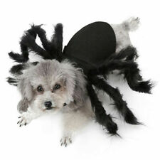 Spider Dog Costume Halloween Pet Costumes Outfit Apparel Furry Party Decor New