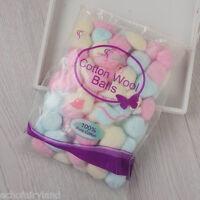 100pcs/Bag Colorful Wool Balls UV Gel Nail Polish Remover Nail Art  Tool