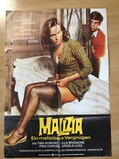 Film Poster * Cinema Poster * a1 * Malizia * Premiere 1973 * Laura Antonelli