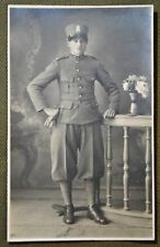 Wwi Young Italian Soldier Rppc