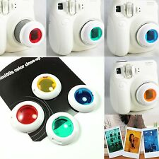 Colour Filter Close Up LENS Polaroid Fuji Film Fujifilm Instax Mini Camera 50S