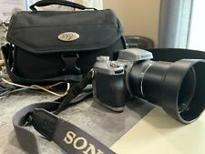 SONY DSC- H1 with Lens Hood and camera case. In excellent Condition