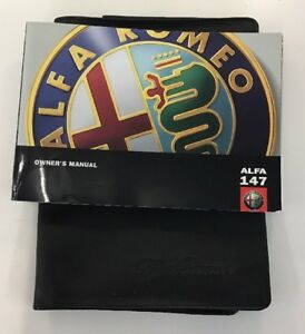 ALFA ROMEO 147 OWNERS PACK / HANDBOOK COMPLETE WITH WALLET 2006~2010 (2006)