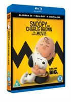 Snoopy E Charlie Brown - The Peanuts Film 3D+2D Blu-Ray Nuovo (58882150