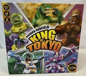 IELLO King of Tokyo Edition Board Game Richard Garfield