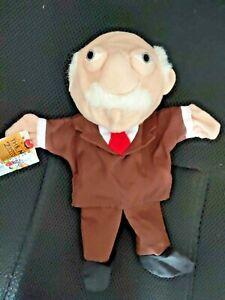 MUPPETS Hand Puppet WALDORF Muppet Movie Disney Plush Doll Toy Kid's Gift
