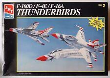 ERTL AMT 1:72 KIT AEREI F-100D  F-4E  F-16A THUNDERBIRDS SKILL LEVEL 2 ART. 8228