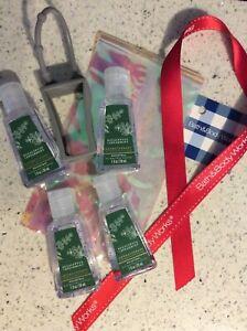 Bath And Body Works Eucalyptus & Spearmint Gel & Holder Set New Gift