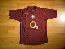 NIKE Arsenal 2005/06 Home Football Shirt Soccer Jersey Highbury Farewell O2