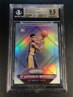 D'ANGELO RUSSELL 2015 PANINI PRIZM #322 SILVER REFRACTOR ROOKIE RC ALL BGS 9.5