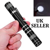 Mini 1200LM High Power Torch Cree Q5 LED Tactical Flashlight AA Lamp - UK SELLER