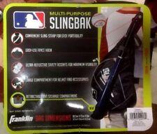 Franklin Sports MLB Slingbak, Black & Gray New with Tag