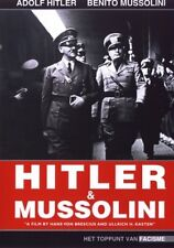 Hitler and Mussolini    Nieuwe dvd in seal.